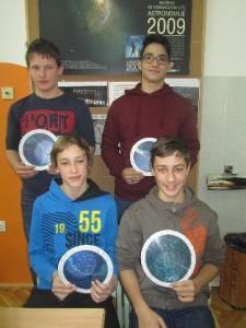 Tudi letos zlato priznanje iz astronomije