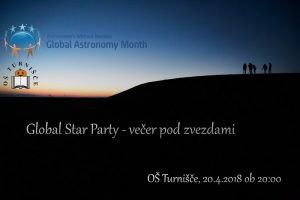 Global Star Party: Večer pod zvezdami