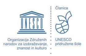 1. Nacionalni Unesco projekt OŠ Turnišče – Po poti kulturne in naravne dediščine