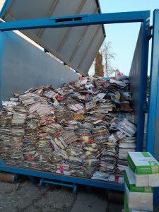 Jesenska akcija zbiranja odpadnega papirja